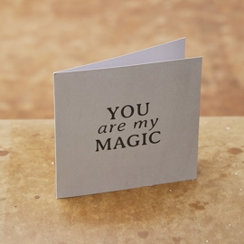 Monday Sunday - Card You Are My Magic i parfumerihamoghende.dk