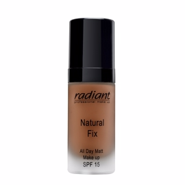 Radiant - Natural Fix All Day Matt Foundation 10 Chocolate - 30 ml
