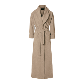 Karmameju Mount Everest Fleece Bathrobe Beige X-Large hos parfumerihamoghende.dk