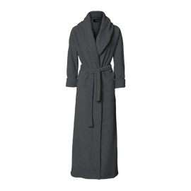 Karmameju Mount Everest Fleece Bathrobe Dark Grey X-Large hos parfumerihamoghende.dk