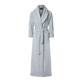 Karmameju Mount Everest Fleece Bathrobe Light Grey X-Large hos parfumerihamoghende.dk